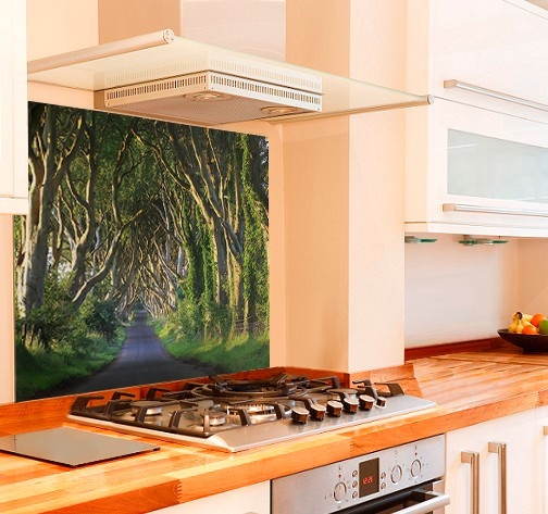 Dark Hedges from Game of Thrones Kitchen Splashback