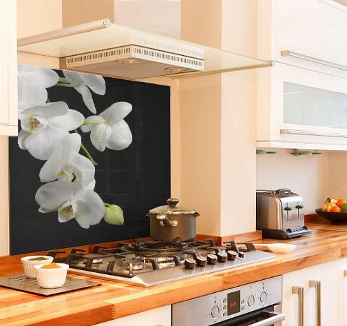 wild-orchid diy kitchen glass splashback