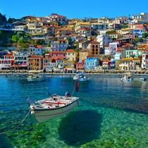 Greece sq diy kitchen glass splashback