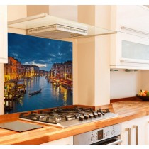 Grand Canal Kitchen Glass Splashback
