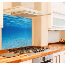 Underwater Kitchen Glass Splashback