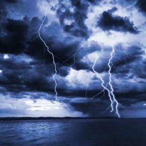 Storm at Sea sq diy kitchen glass splashback