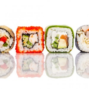 Sushi sq diy kitchen glass splashback